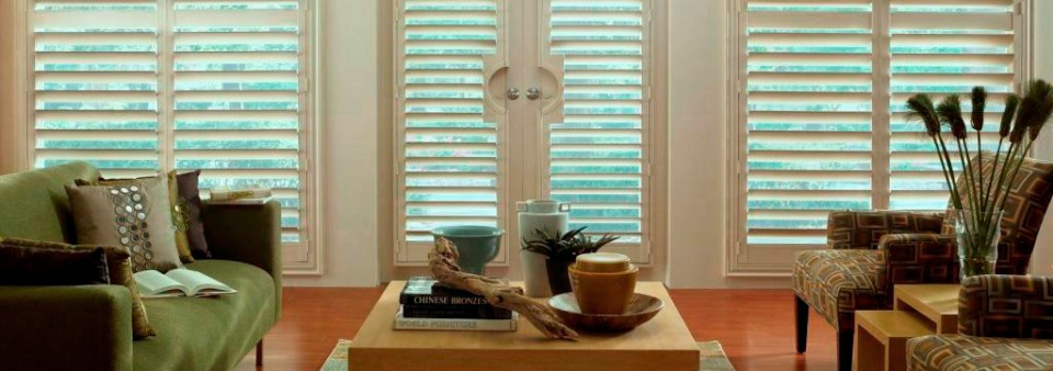 Classic Shutters In A Living Room