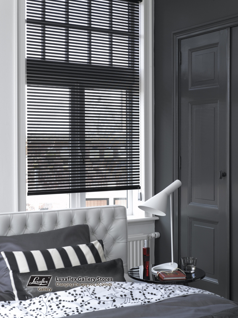 Facette Black In A Grey Bedroom Fuller Decor